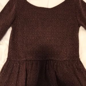 Cute little brown dress for fall. Sz M
